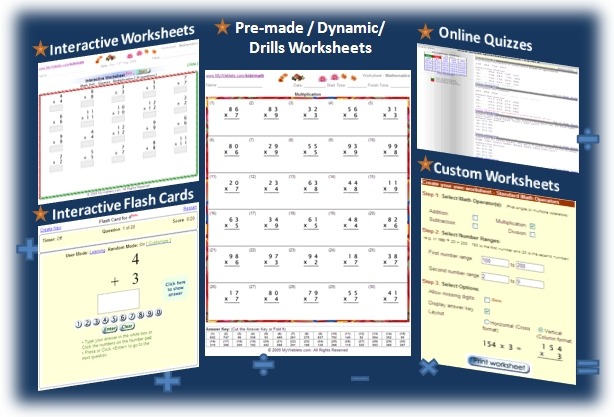 Math Worksheets For Kids School Grade 1 To 5 Free Printable Pre